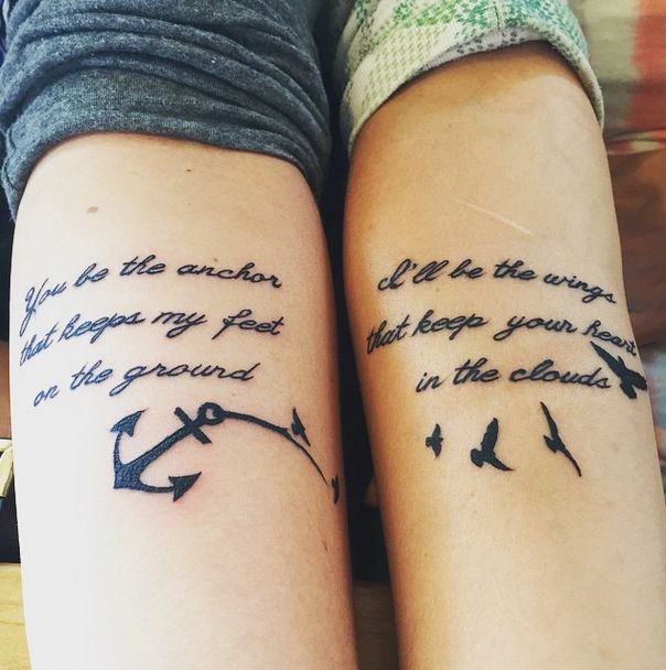 13 Best Friend Tattoo Ideas To Get With Your Platonic Soulmate