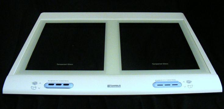 3551JJ1069D LG Refrigerator Crisper Drawer Cover w/ Glass