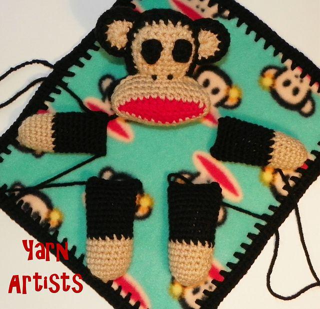 Free Monkey Lovey Blanket ( Paul Frank Julius Inspired ...