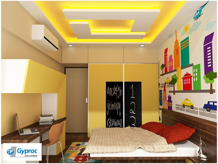 18 best images about adorable kids room ceiling designs on for Decor zone false ceiling