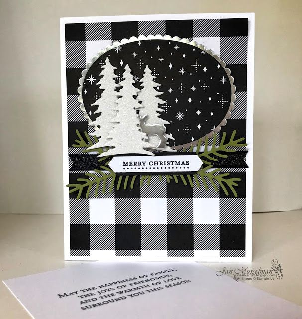 Stampin' Up - 2017 Holiday Catalog - Carols of Christmas - Pretty Pines - Teeny Tiny Wishes - Merry Little Christmas DSP - i♥Cards2