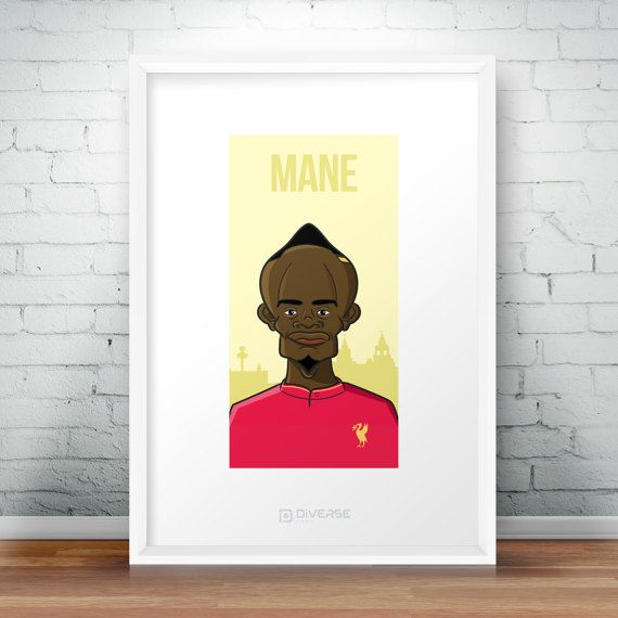 Check out this item in my Etsy shop https://www.etsy.com/uk/listing/501309988/sadio-mane-liverpool-a4-poster-liverpool
