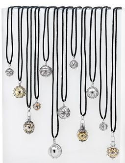 Bella Donna Silver HARMONY BALLS.  Each of Bella Donna's beautiful Harmony Balls is designed in association with meaningful affirmations.