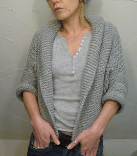 muse ~ a little shrug free pattern