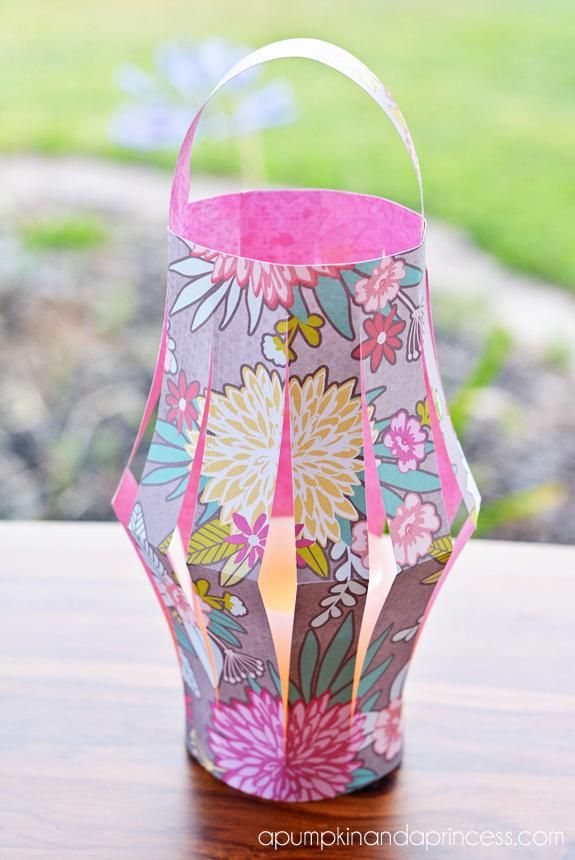 DIY Lanterns DIY Summer Camp Paper