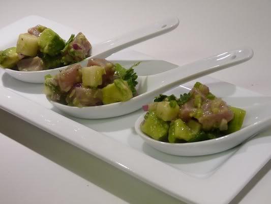 recipe: tuna ceviche