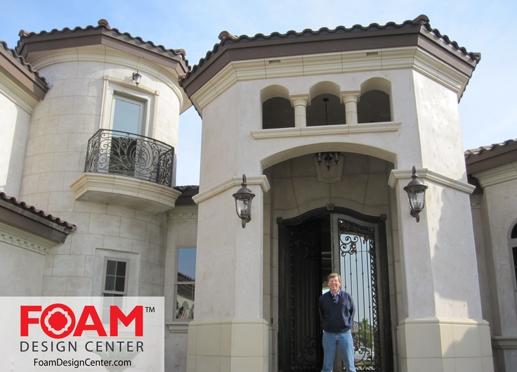 Pin On Mediterranean Architecture With Foam Design Center