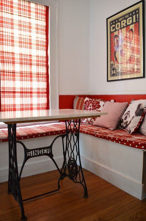 Versatile Vintage: Sewing Machine Tables In Every Room