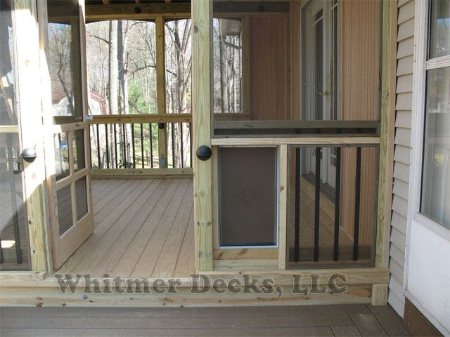 Doggie Door On Screened Porch Google Search