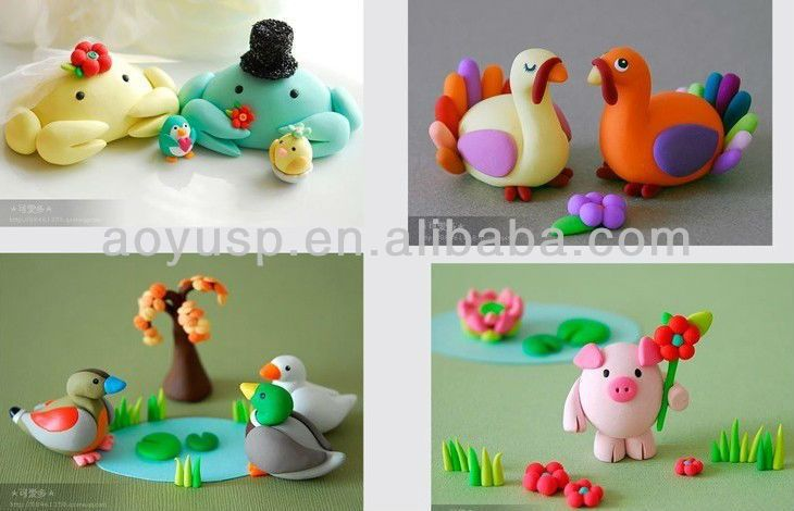cute clay animal sculptures - Google Search | Clay ...