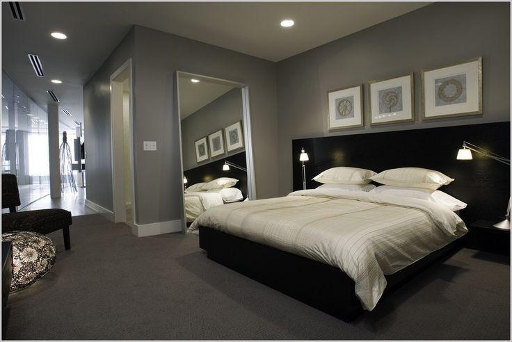 grey walls bedroom carpet - Google Search                                                                                                                                                      More