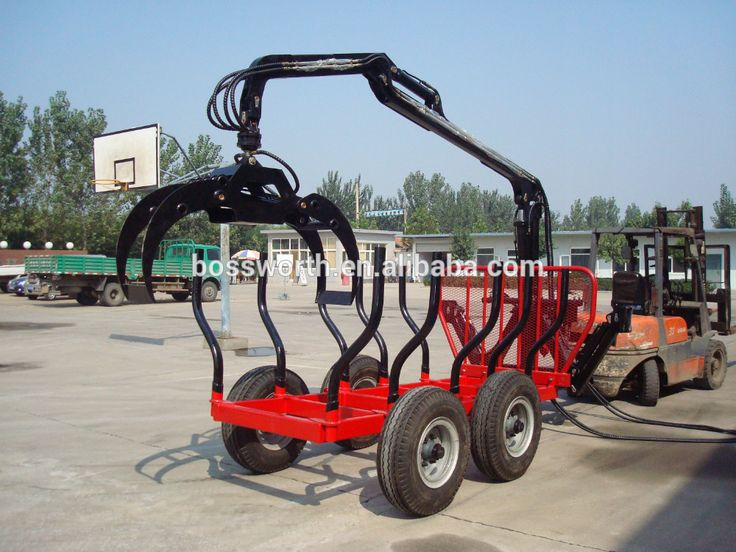 Log Trailer And Crane With Seperate Engine Photo, Detailed about Log Trailer And Crane With Seperate Engine Picture on Alibaba.com.