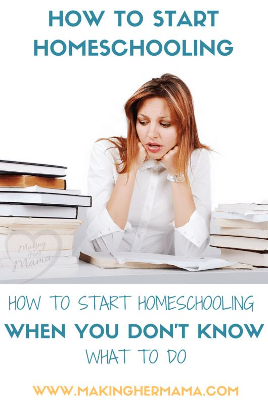 How to start homeschooling when you don't know what to do! Want to know how to homeschool and where to start? Come take a look at how our family entered the world of homeschooling and be encourage. Plus get this free printable checklist for starting homeschooling..