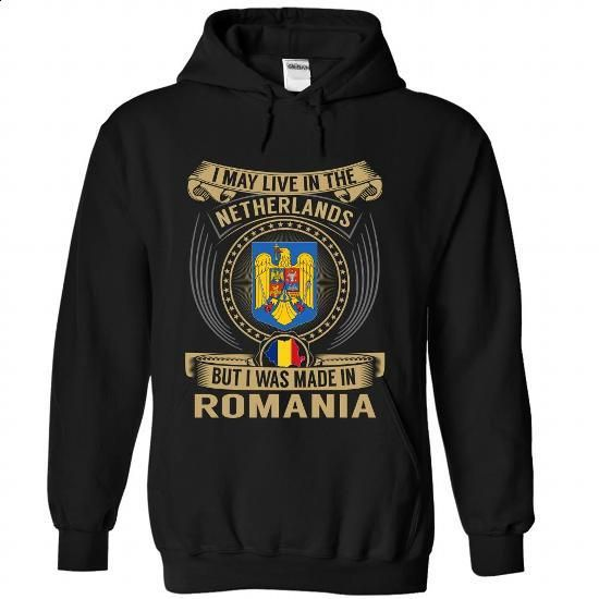 Netherlands - Romania Special - #pink hoodie #t shirt design website. ORDER HERE => https://www.sunfrog.com/States/Netherlands--Romania-Special-vhqgsgslsb-Black-Hoodie.html?60505