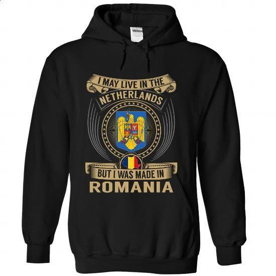 Netherlands - Romania Special - #pink hoodie #t shirt design website. ORDER HERE => https://www.sunfrog.com/States/Netherlands--Romania-Special-vhqgsgslsb-Black-Hoodie.html?60505