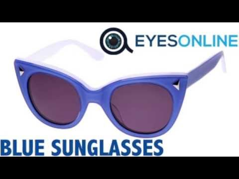 Blue Sunglasses Collection - EYESONLINE