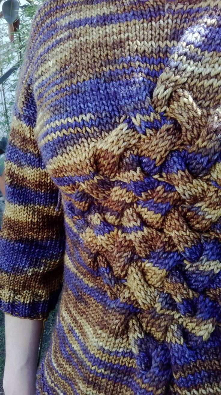 Entrelac style with Araucania Yarns, own pattern