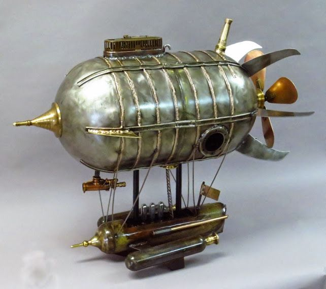 A Collection of some fantasy airships - Dirigible Modelers
