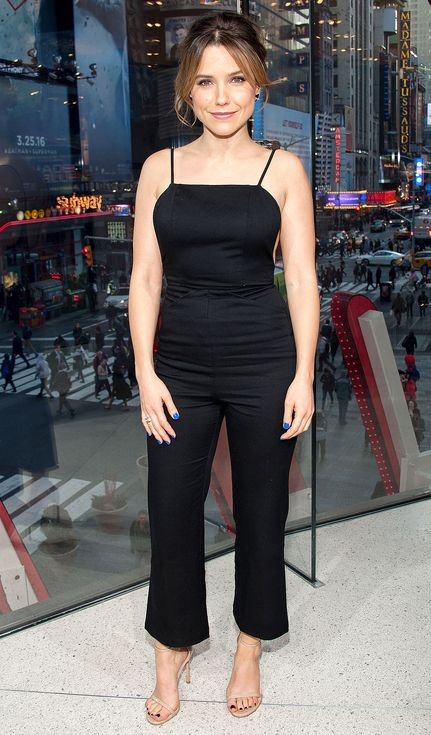 We can't stop talking about Sarah Jessica Parker's metallic dress, Sophia Bush's sexy black jumpsuit and more star looks