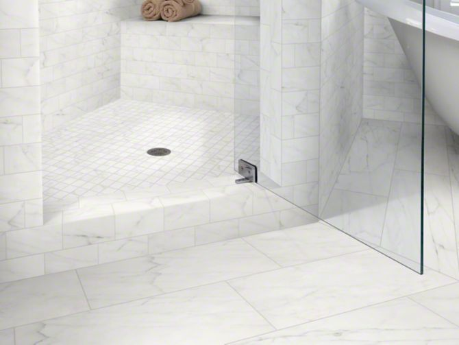 Shaw Tile Maximus 18x18 In 2019 Marble Tile Bathroom
