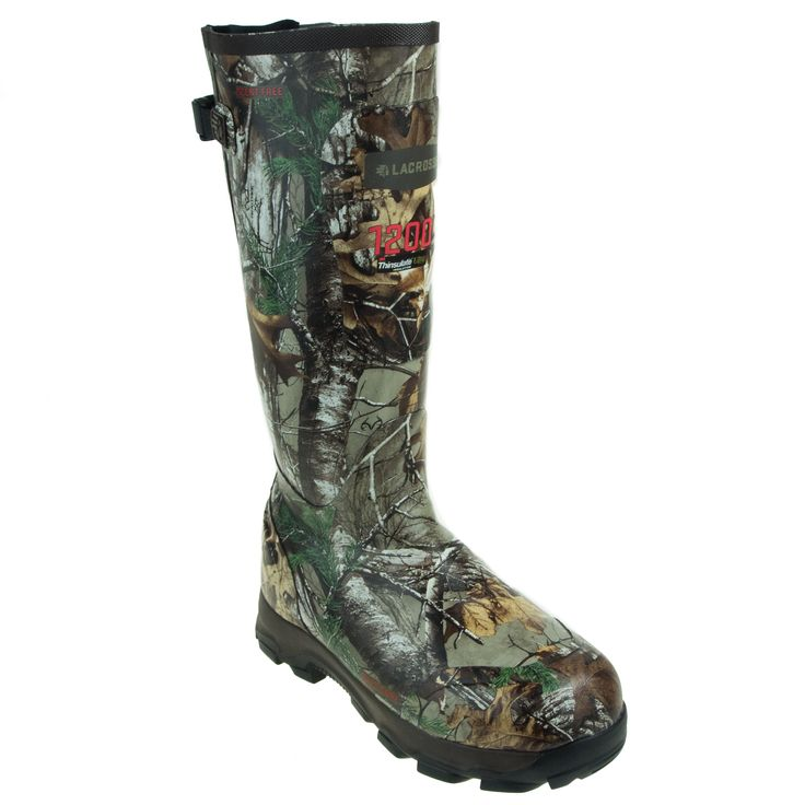 LaCrosse Boots Men's 4XBurly Realtree 202006 Insulated Work Boots