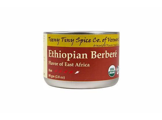Organic Ethiopian Berbere by Teeny Tiny Spice Company