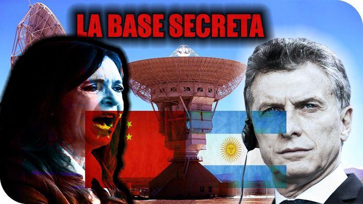 """EL TERRIBLE SECRETO que esconde la BASE MILITAR CHINA en ARGENITNA (NESTOR Y CRISTINA KIRCHNER """"VENDIERON"""" LA PATAGONIA ARGENTINA a CHINA!!!) por medio de 1 ACUERDO INVIOLABLE (LA BANDERA CHINA izada EN TERRITORIO ARGENTINO!!!)"""