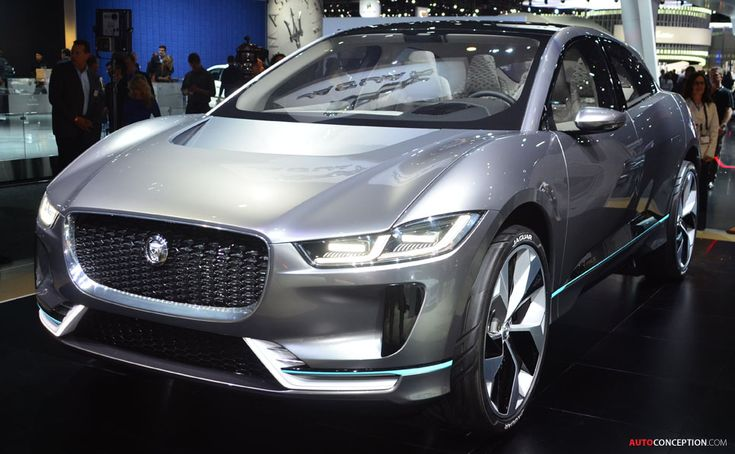 All-Electric Jaguar I-PACE SUV Revealed