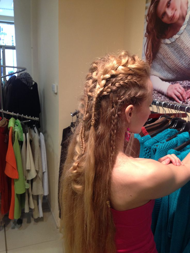 Vikings if my hair wasnt so fine i could totally pull this off vikings if my hair wasnt so fine i could totally pull this off my kind of fashion pinterest viking hair vikings and hair style ccuart Images