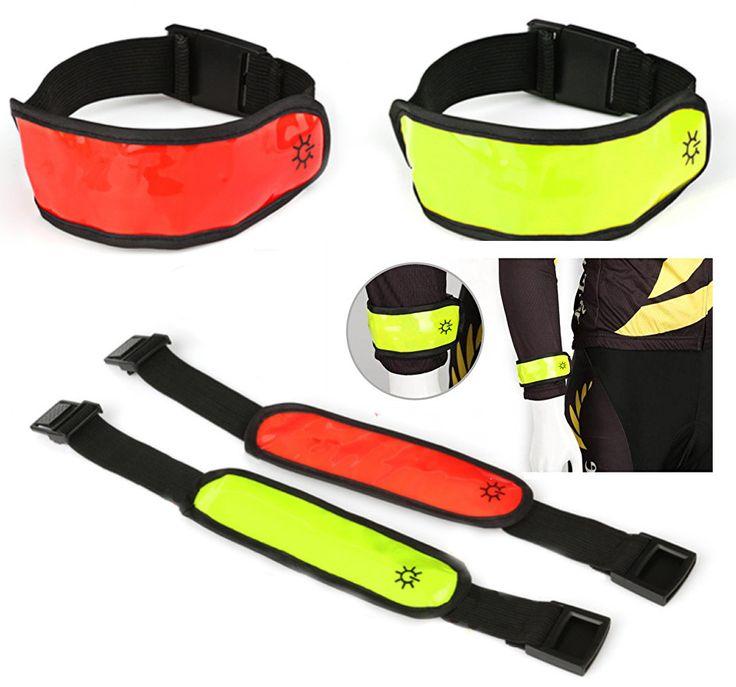 Biztonsági LED szalag sportoláshoz, túrázáshoz, biciklizéshez vagy bármilyen más...