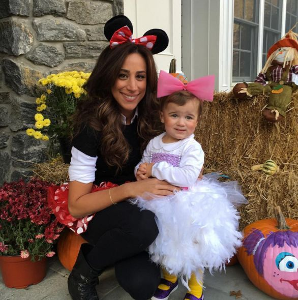 The world needed a Princess Jonas. Kevin shared this snap of kiddo Alena with her mom, Danielle Jonas. (Instagram)