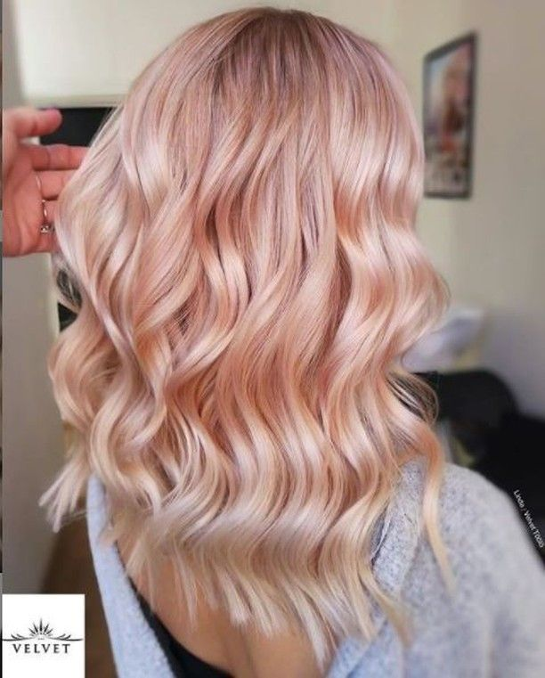 20 Latest And Trendy Rose Gold Hairstyle Ideas Light Pink Hair Pink Blonde Hair Hair Tint