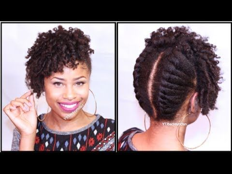 Curly Twisted Pin-Up | Natural Hair Tutorial