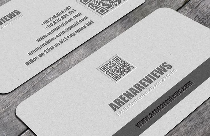 Black & Grey Business Card Template