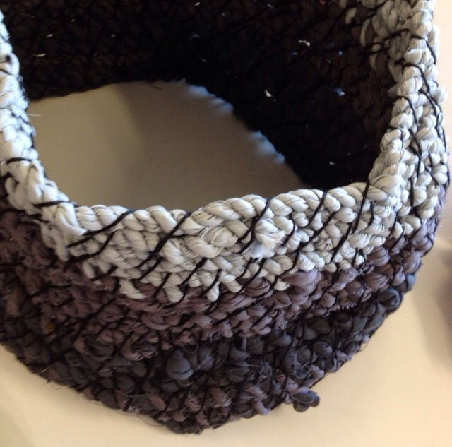Coiling by Year 10 KMHS Visual Arts student.