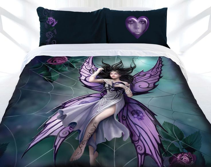 Anne Stokes Silk Lure Queen or King Size Doona Quilt cover set. Available at Kids Mega Mart Shop Australia www.kidsmegamart.com.au