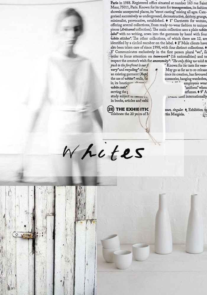 WHITES 04 moodboard Karine Candice Kong http://blog.bodieandfou.com/2014/04/whites-04-2014.html