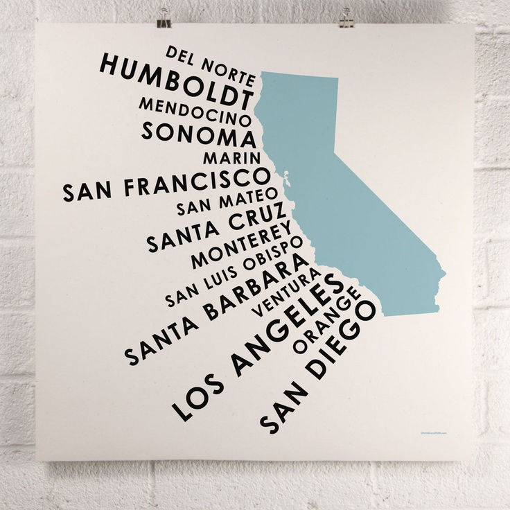 California Screen Print