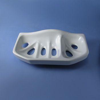 Jabonera de porcelana para baños y aseos  #baños #aseos #porcelana #decoracion #interiorismo #arquitectura #retro #vintage #rustico #agroturismo #hoteles #masias #casarural #iluminable