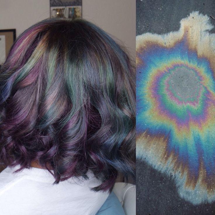 Oil Spill Hair Katiadoesmymakeup PhiveStarHair In 2019