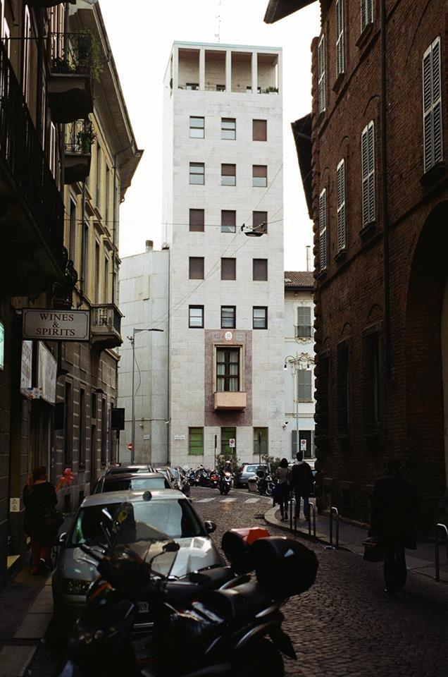 Casa del Fascio della Federazione Provinciale. Architekt: Piero Portaluppi