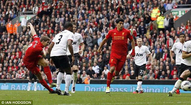 Restraining influence: Ferguson tried to sign Gerrard but it reached a dead end