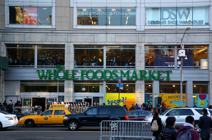 10 great places to eat in New York City: Whole Foods at Union Square