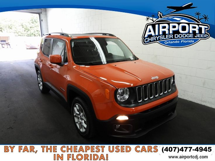 Used 2017 Jeep Renegade in Orlando, FL 492687151 1