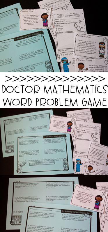 138 best Math Problem Solving images on Pinterest   Teaching math ...