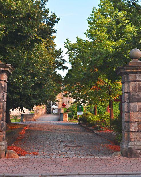 Weg zur Burg, Coppenbrügge, Weserbegland, v²