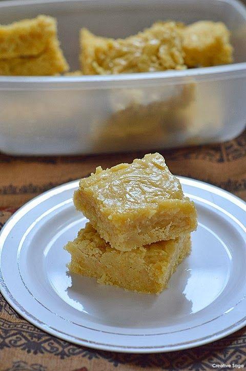 7 Cup Burfi / 7 cup sweet - diwali burfi recipes
