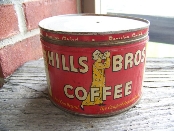 Ansel Adams Vintage Coffee Tin
