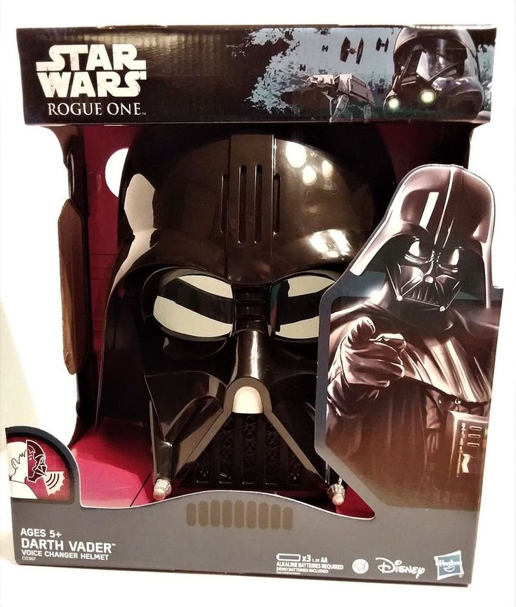 STAR WARS DARTH VADER ROGUE ONE VOICE CHANGER HELMET