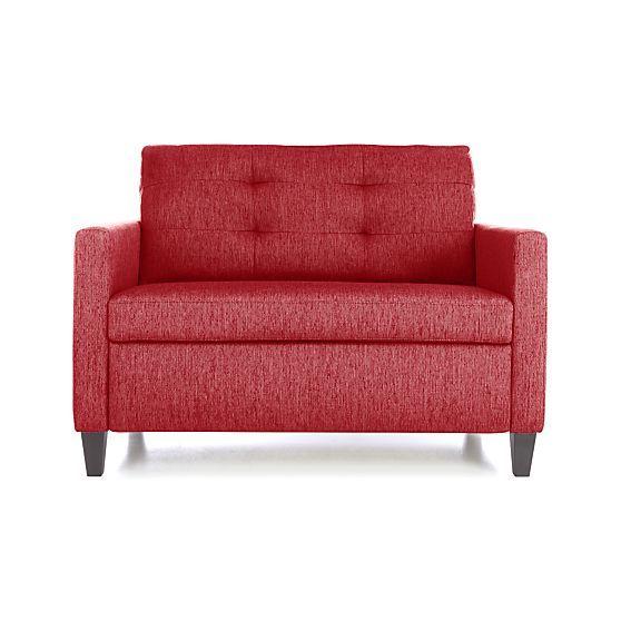 Karnes Twin Sleeper Sofa In Sofas Crate And Barrel